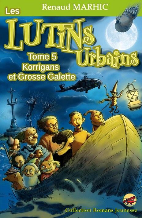 Couverture Les lutins urbains, tome 5 : Korrigans et Grosse Galette