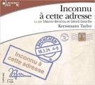 Couverture Inconnu à cette adresse Editions Gallimard  (Ecoutez lire) 2004