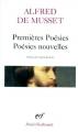 Couverture Premières Poésies, Poésies nouvelles Editions Gallimard  1976