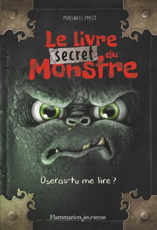 Couverture Le livre secret du monstre
