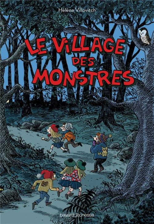 Couverture Le village des monstres
