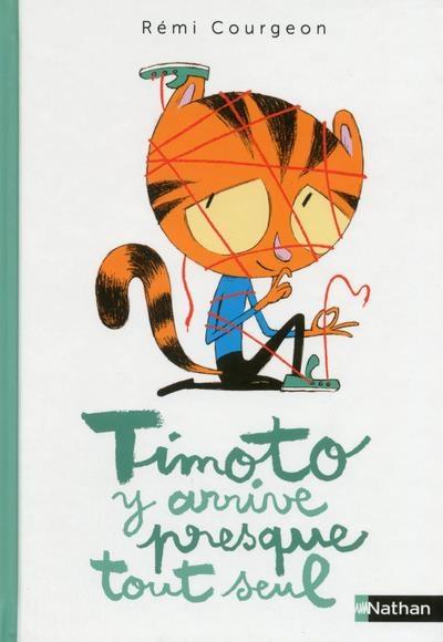 Couverture Timoto y arrive presque tout seul