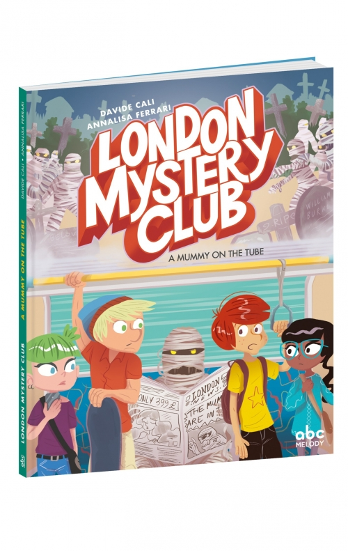 Couverture London Mystery Club : A Mummy on the Tube