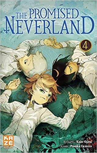 Couverture The promised neverland, tome 04