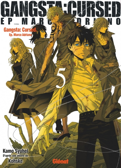 Couverture Gangsta : Cursed, Ep. Marco Adriano, tome 5