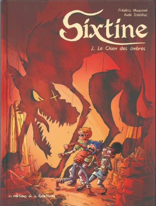 Couverture Sixtine, tome 2 : Le chien des ombres