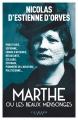 Couverture Marthe ou les beaux mensonges Editions Calmann-Lévy (Littérature française) 2018