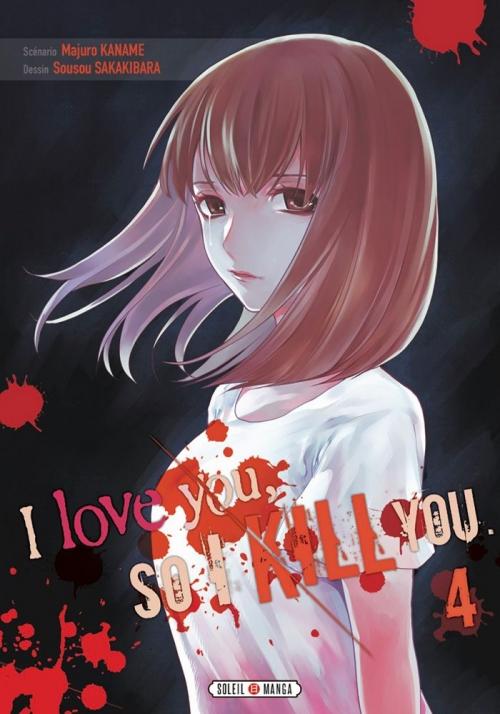 Couverture I love you, so I kill you, tome 4
