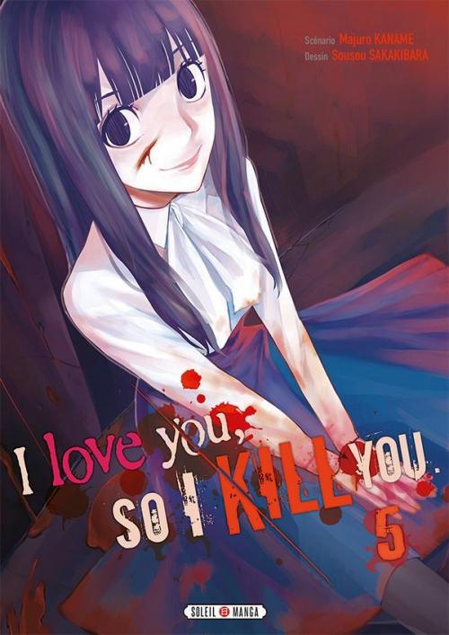 Couverture I love you, so I kill you, tome 5