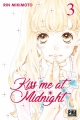 Couverture Kiss me at midnight, tome 03 Editions Pika (Shôjo - Cherry blush) 2018