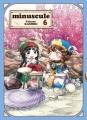 Couverture Minuscule, tome 6 Editions Komikku 2018