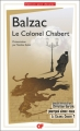 Couverture Le colonel Chabert Editions Flammarion (GF) 2018