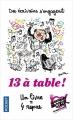 Couverture 13 à table ! (2018) Editions Pocket 2018