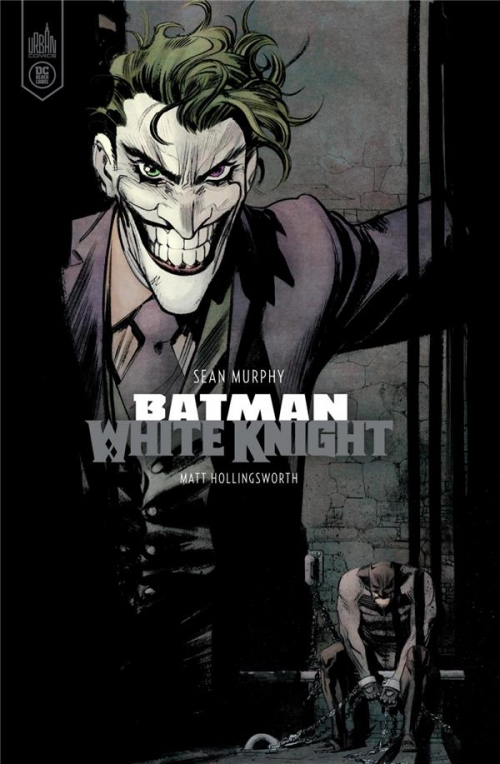Couverture Batman: White Knight