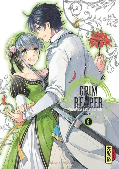 Couverture The grim reaper and an argent cavalier, tome 6