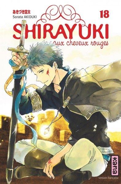 Couverture Shirayuki aux cheveux rouges, tome 18