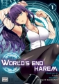 Couverture World's End Harem, tome 01 Editions Delcourt-Tonkam (Seinen) 2018