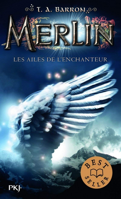 Couverture Merlin, cycle 1, tome 5 : Les ailes de l'enchanteur