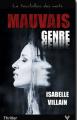 Couverture Mauvais genre Editions Taurnada 2018