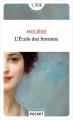 Couverture L'Ecole des femmes Editions Pocket (Classiques) 2018
