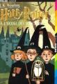 Couverture Harry Potter, tome 1 : Harry Potter à l'école des sorciers Editions Folio  (Junior) 1998