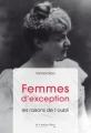 Couverture Femmes d'exception: les raisons de l'oubli Editions Le Cavalier Bleu 2018