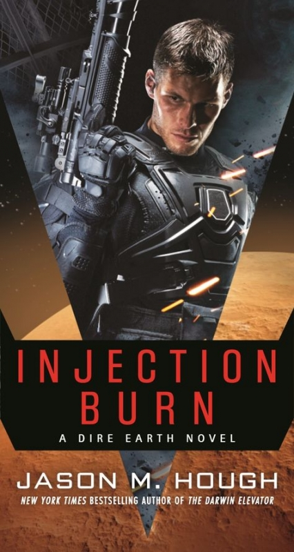 Couverture Dire Earth Duology, book 1: Injection Burn