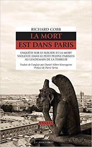Couverture La mort est dans Paris