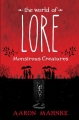 Couverture Lore, tome 1 : Monstrueuses créatures Editions Del Rey Books 2017