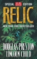 Couverture Relic Editions Tor Books 2005