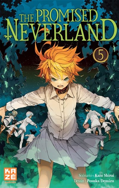 Couverture The Promised Neverland, tome 05