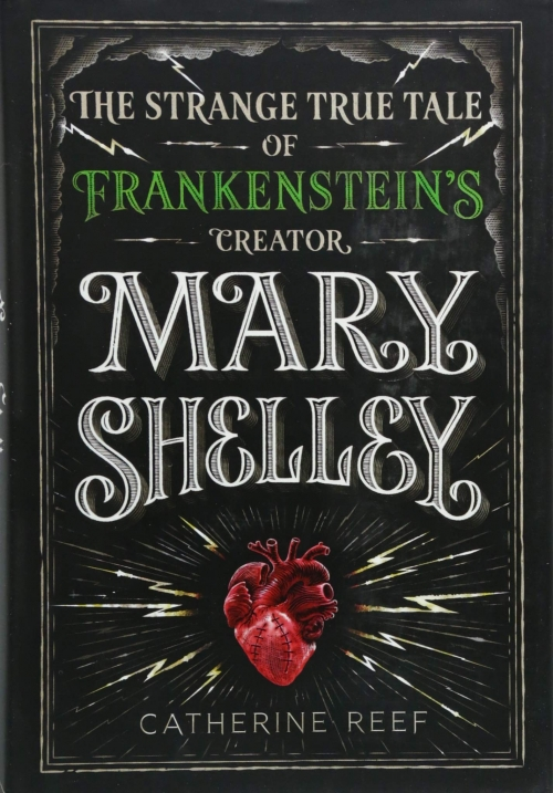 Couverture The strange true tale of Frankenstein's creator, Mary Shelley