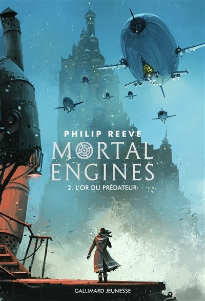 Couverture Mortal Engines, tome 2 : L'Or des prédateurs