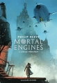 Couverture Mortal Engines, tome 2 : L'Or des prédateurs Editions Gallimard  2018