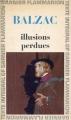 Couverture Illusions perdues Editions Garnier Flammarion 1966