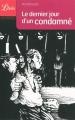 Couverture Le Dernier Jour d'un condamné Editions Librio (Littérature) 2009