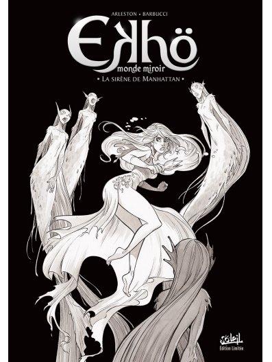 Couverture Ekhö : Monde miroir, tome 8 : La sirène de Manhattan