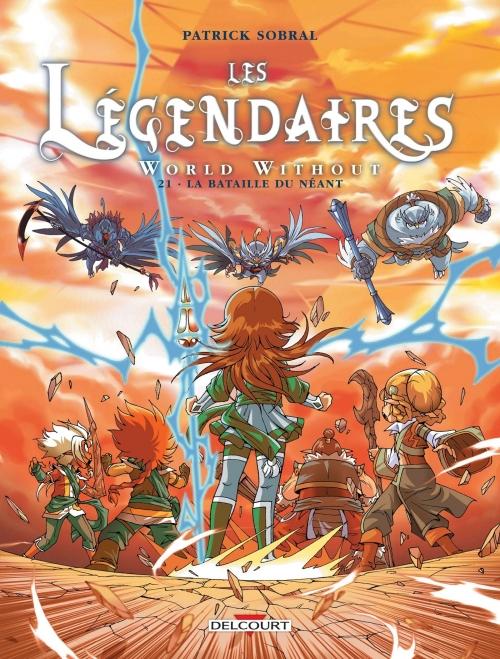 Couverture Les Légendaires, tome 21 : World Without : La bataille du néant