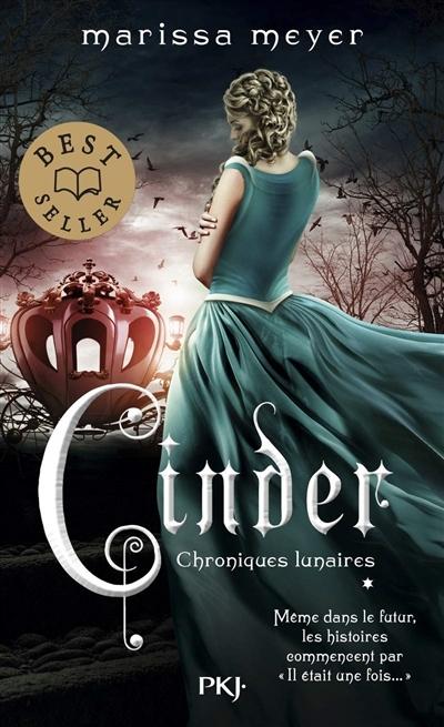 Couverture Chroniques lunaires, tome 1 : Cinder