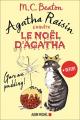Couverture Agatha Raisin enquête, tome hs : Le Noël d'Agatha Editions Albin Michel 2018