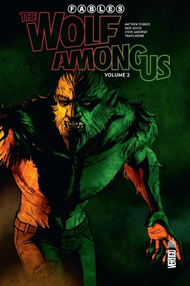 Couverture Fables : The Wolf Among Us, tome 2