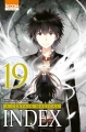 Couverture A certain magical Index, tome 19 Editions Ki-oon (Shônen) 2018