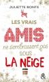 Couverture Because of you / Les vrais amis ne s'embrassent pas sous la neige Editions Harlequin (&H) 2018