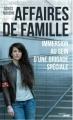 Couverture Affaires de famille Editions Cherche Midi 2018