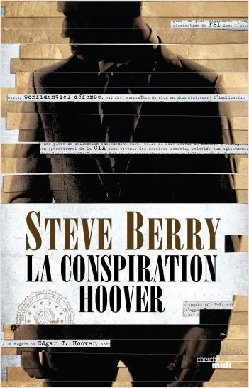 Couverture Cotton Malone, tome 13 : La conspiration Hoover