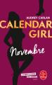 Couverture Calendar girl, tome 11 : Novembre Editions Le Livre de Poche 2018