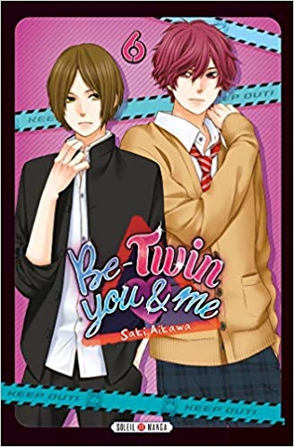 Couverture Be-twin you & me, tome 6