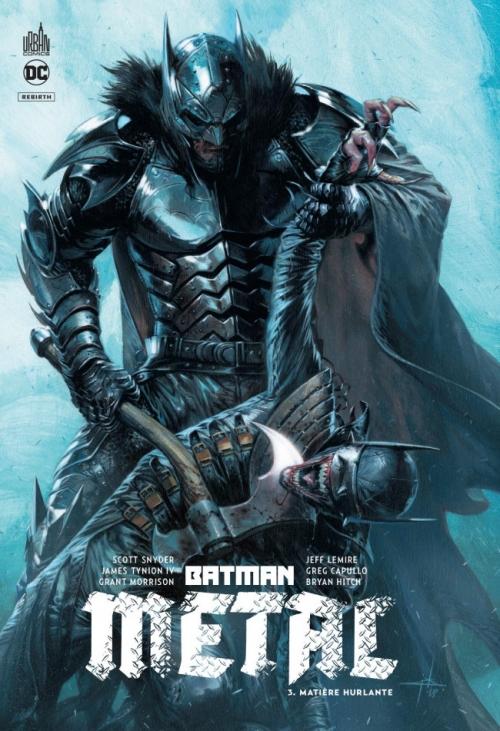 Couverture Batman Métal, tome 3 : Matière Hurlante