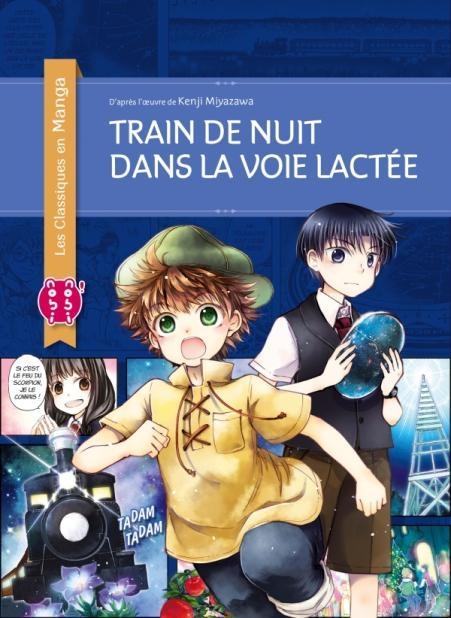 Couverture Train de nuit dans la Voie lactée (manga)