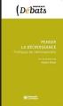 Couverture penser la décroissance Editions Les presses de Sciences Po 2013